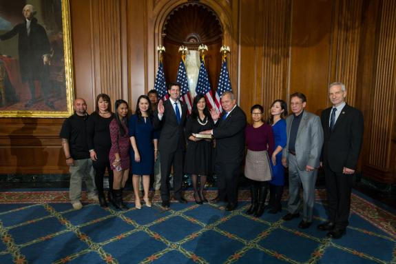CNMI delegate to US Congress sworn in