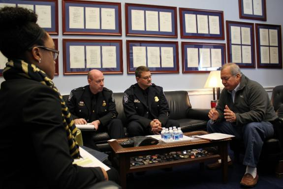 Kilili meets with CBP officials; US House to vote on CW cap