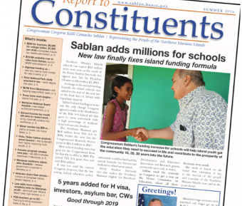 Report to Constituents feature image