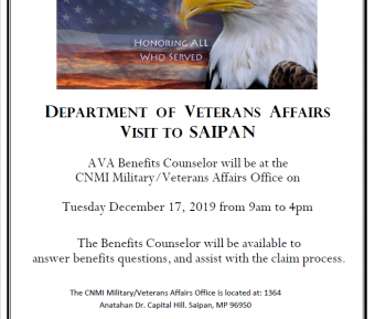 Vets benefits counselor 12/17 feature image