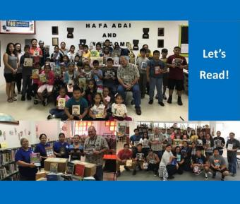 Let's Read! Tinian feature image