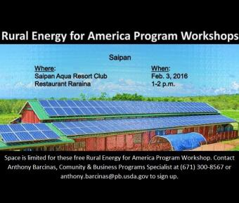 Free Rural Energy for America Program Workshop  feature image