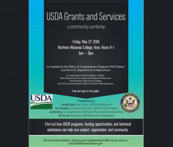 USDA Grants and Services workshop feature image