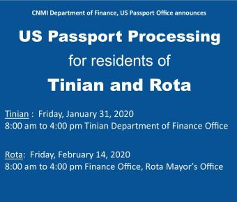 US Passport Processing for Tinian & Rota feature image